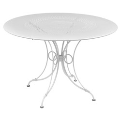 Table 1900 117cm blan coton