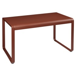 Table Bellevie  FERMOB ocre rouge