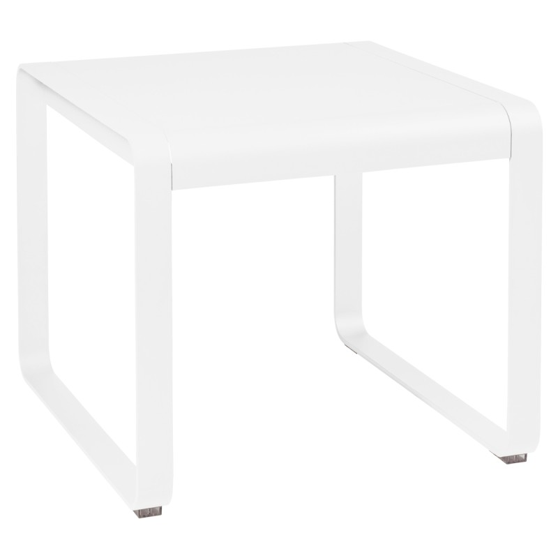 Table mi-hauteur Bellevie Fermob Blanc coton