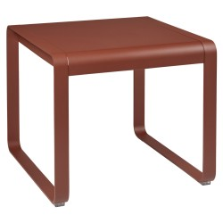 Table mi-hauteur Bellevie Fermob Ocre rouge
