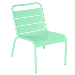 Chaise lounge LUXEMBOURG - FERMOB vert opaline