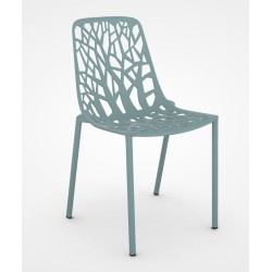 Chaise FOREST tout alu - FAST light blue