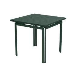 Table carrée 80x80 COSTA- FERMOB
