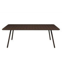 Table rectangulaire 201x100 LUXEMBOURG- FERMOB