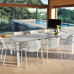 Table extensible 160/268x100 ROUND - EMU